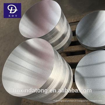 Cercle en aluminium 1050 pour casserole