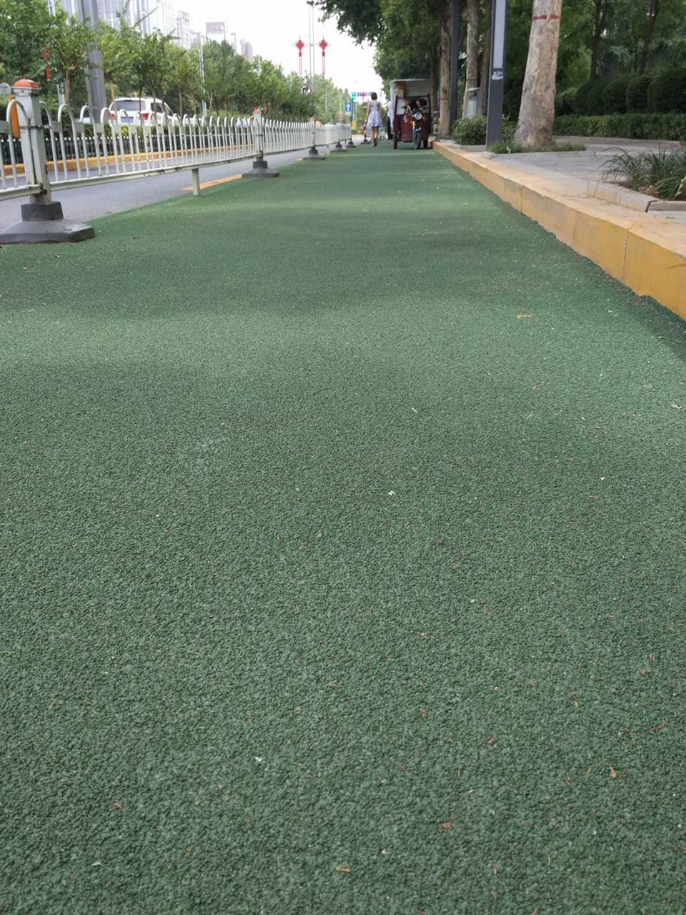 Green Permeable Floor