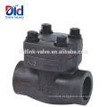 High Pressure China Factory 150 800 Pornd Grade Forging A105 Forged Steel Check Valve 1 2