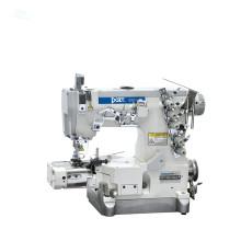 Pantalones de costura del interlock de la cama del cilindro del cortador de la derecha DT600-33AC que hacen la máquina