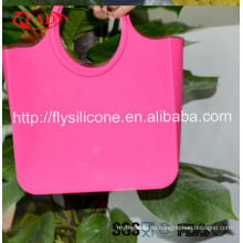 Mehrfarbige Werbeartikel Einfache Reinigung Rubber Beach Bag