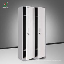 красочные 2 ярус двери металл шкафчик для спортзала школы одежда номер