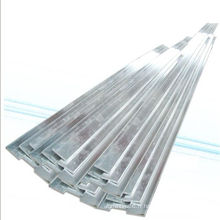 Barre plate en aluminium