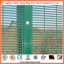 Galvanized/Powder Coated Anti Climb Fence 358 Fence High Security Fence