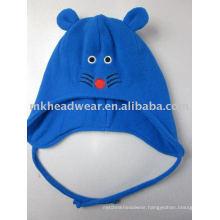 cute polar fleece hat for kids