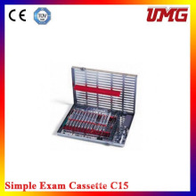 Cassette C15 stérilisateur dentaire inoxydable