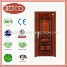 Commercial Best Price Steel Security Door KKD-516 For Simple Design