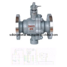 Fixed Ball Valve with Metal Seating Surfaces