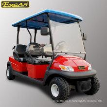 Ce voiturettes de golf électriques à 4 sièges