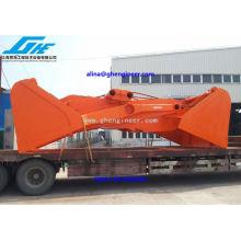 Tesoura mecânica nova do projeto agarra para a carga