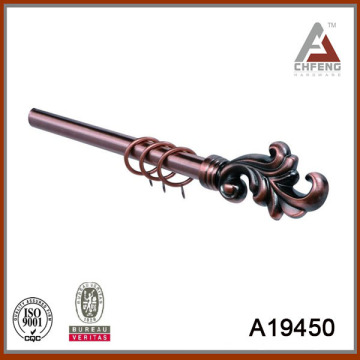 A19450 finial in electroplated finish