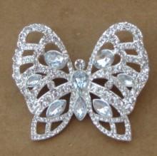 crystal rhinestone butterfly
