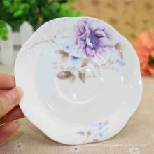 Assiettes à dîner sectionnelles en porcelaine de qualité supérieure