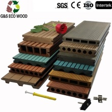 Outside Waterproof Wpc Wood Plastic Composite Decking