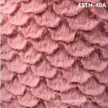 PV Plush/ Polyboa / Tricot Velboa / Warp Knit Boa Esth-40A