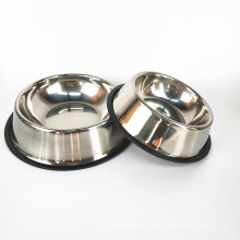 Stainless Steel Feeders Non Slip Dog Bowls Dog and Cat Water and Food Bowls