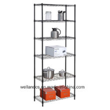 Powder Coating Steel Home Wire Racking with NSF Approval (LD6035180A6E)