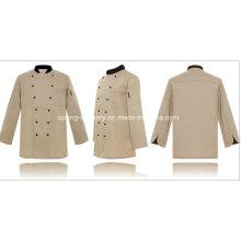 Chef Uniform-Nano-Protection-Waterproof-Oil Resistance-Work Uniform (W-022)