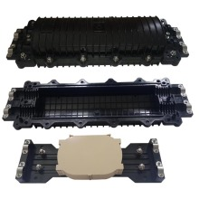 China supplier OEM for China Horizontal Fiber Optic Splice Closure,New Horizontal Fiber Optic Splice Closure Manufacturer 4 Port In-Line Fiber Optic Cable Junction Box supply to Pakistan Manufacturer