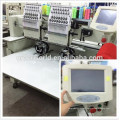 Computer easy portable embroidery machine for hat flat t-shirt shoes gloves bags