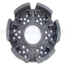 Composant de moteur personnalisé avec revêtement en poudre