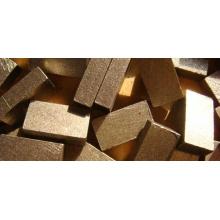 Différents types de segments de diamant pour la coupe de granit
