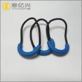 personalized 3d logo sportswear cord zipper puller