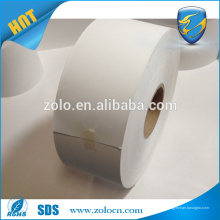 Leere Eierschale Papier Material Rolle für Zebra Druck Kleidung Verkauf Tasche Dichtung