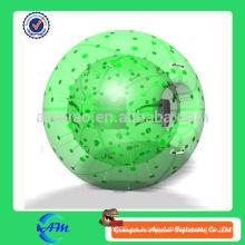 Color diferente para eligió la bola inflable del zorb para la bola de hierba plástica al aire libre