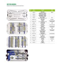 Orthopedic Medical Instrument Set for Broken Screw Removal