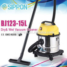 The dry wet vacuum cleaner with external socket