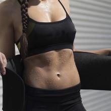 Cinto de suor de neoprene emagrecimento barriga aparador de cintura