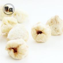 Bocadillos saludables alimentos liofilizados crujientes de lichi entera