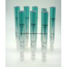 Plástico de alumínio laminado tubo para limpeza Facial cosméticos com escova de cabelo