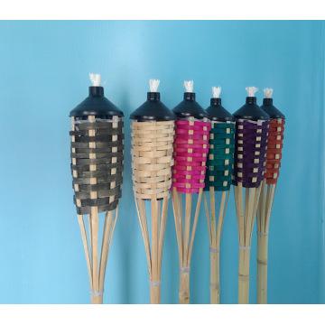 antorcha de bambú china barata