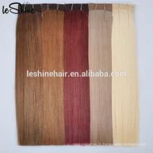 Grande usine distribuer des tranches de cheveux épais trame double cheveux humains Remy russe