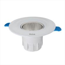 Supermarktbeleuchtung COB Runde Dimmable Oberfläche montiert vertiefte 5w 7w 9w 12w LED Downlight