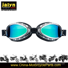 4481036 Fashionable ABS Harley Type Goggles for Motorcycle