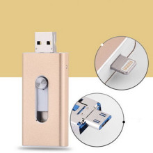 OEM China High quality for Otg Mini Usb Flash Drive For Ipad OTG Usb Pendrive for Android iphone export to Aruba Factories