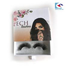 Benutzerdefinierte falsche EyeLash Verpackung Lash Papier Verpackung Box Lieferant Schublade