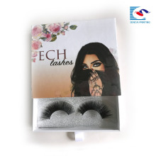 Embalaje personalizado False EyeLash Caja de empaquetado de papel Lash proveedor caja de cajones