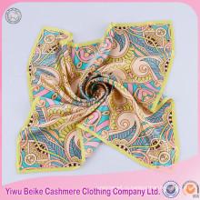 Отличное качество Шелковый шеи шарф Модный шарф