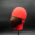 reusable cleanable breathable solid color silk face cover