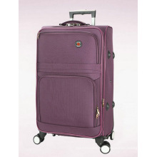 Estuche de equipaje de viaje suave en poliester incorporado