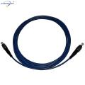 FC/UPC single mode optic fiber patch cord LSZH/PVC jacketfactory price china provider