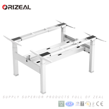 Lift Weight 120kgs and Dual Motor per frame Face to face smart standing table