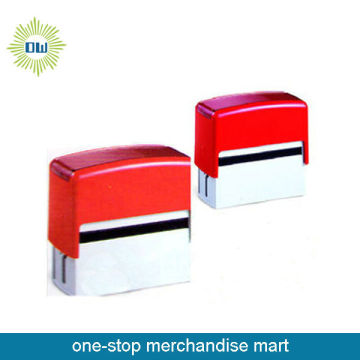 Shiny Plastic Self Inking Stamp
