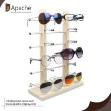 Europe style for Sunglasses Display Rack Wooden Sunglasses Counter Dislpay Rack export to North Korea Exporter