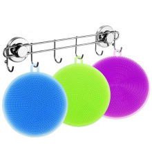 Multi purpose washing brush for silica gel