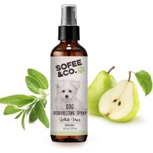 Natural Dog Puppy Deodorizing Grooming Spray